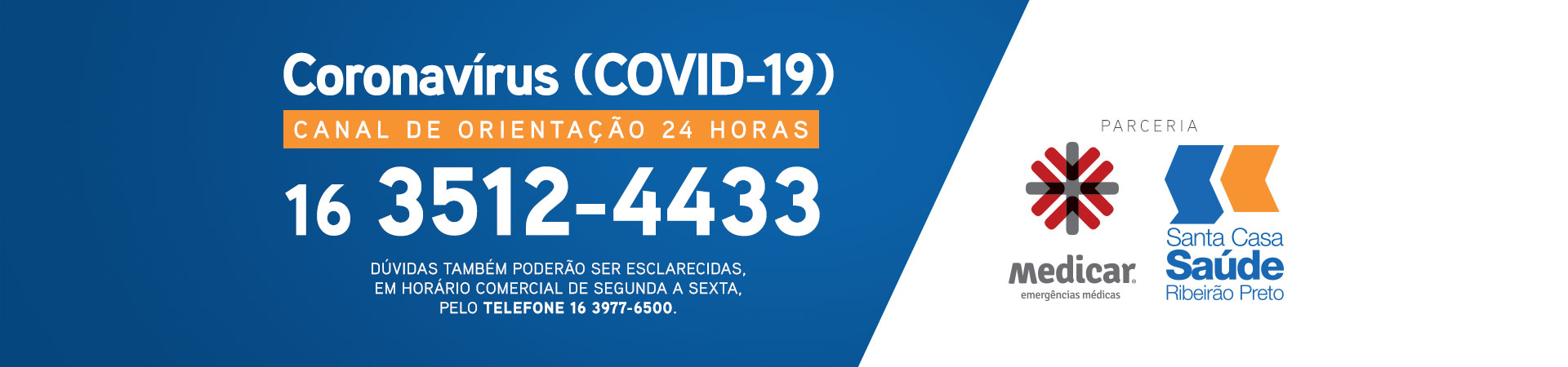 Banner Medicar Coronavírus