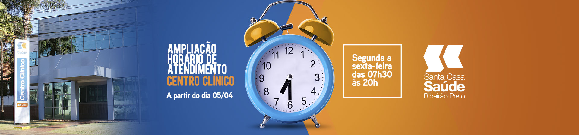 Telefone do centro clínico da Santa Casa Saúde Ribeirão